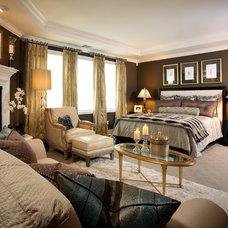 Traditional Bedroom by J. Hettinger Interiors
