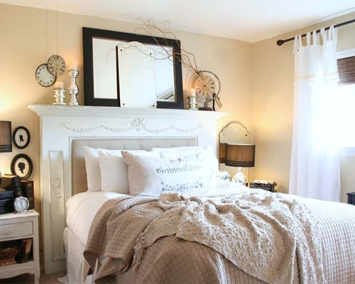Mantel Headboard Houzz