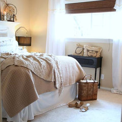 traditional bedroom by The Old Painted Cottage