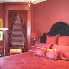 Traditional Bedroom by Jerry Jacobs Design, Inc.