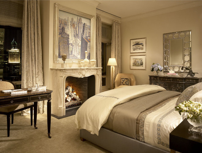 Traditional Bedroom by Jessica Lagrange Interiors