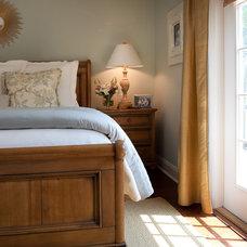 Traditional Bedroom by Lauren Leonard Interiors