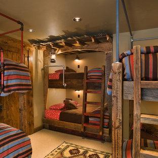 Elegant bedroom photo in Other