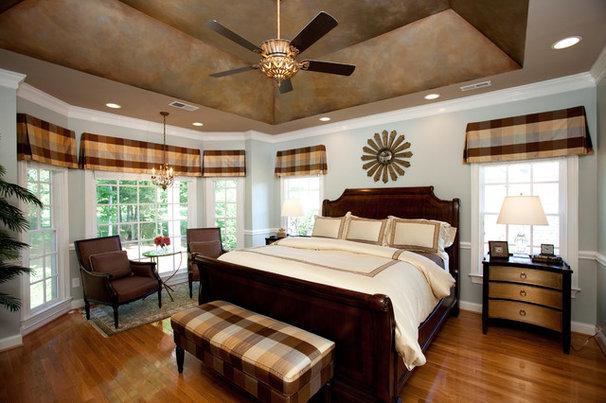 Traditional Bedroom by Loftus Design, LLC