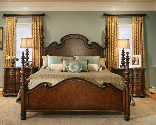 Large bedroom ideas houzz for How to decorate a big bedroom