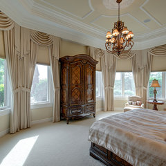 traditional bedroom by Michael Laurenzano Photography