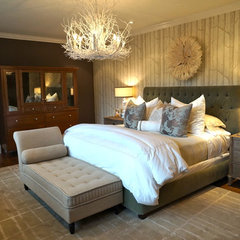 contemporary bedroom by Chelsea Pineda Interiors