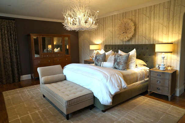 Traditional Bedroom by Chelsea Pineda Interiors
