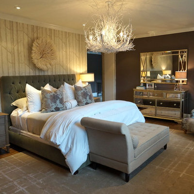 Inspiration for a timeless bedroom remodel in Los Angeles