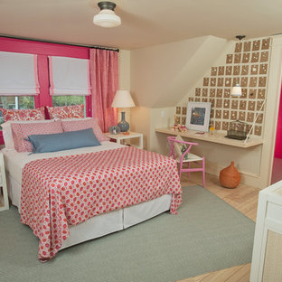 . Pink Gray Girls Bedroom   Houzz