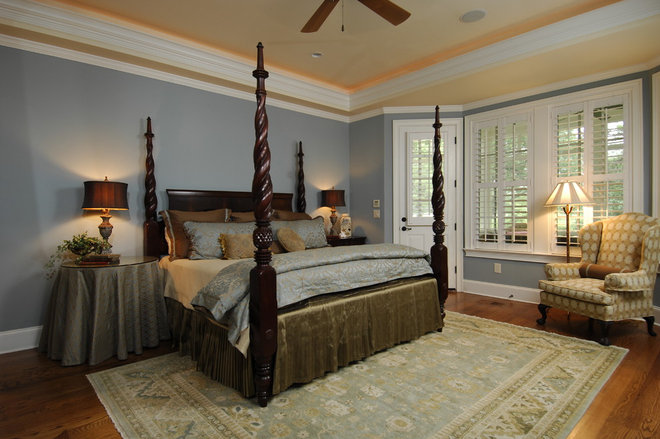 Traditional Bedroom by Sandra Ericksen Design
