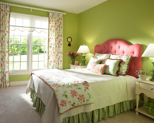 Green Room Ideas Pictures Remodel and Decor – Green Bedroom Decor