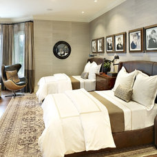 Traditional Bedroom by Tara Dudley Interiors