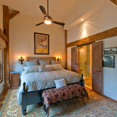 Traditional Bedroom by HeritageBarns.com