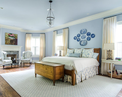 Blue And White Bedroom Design Blue And White Bedroom  Houzz