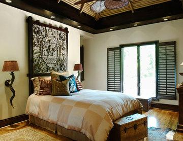 Traditional Ethnic Refuge, Full Home Design