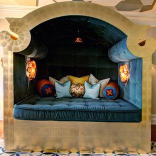Eclectic bedroom photo in Los Angeles