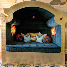 Eclectic Bedroom by SoCal Contractor