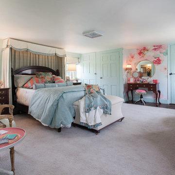 Traditional Historic Farmhouse Bedroom