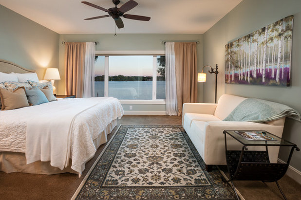 Traditional Bedroom by LandMark Photography. Bedroom Lounge Spaces for Daytime Luxuriating
