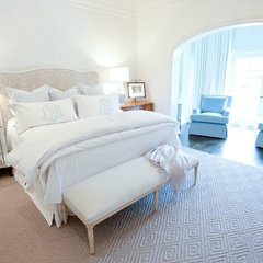 traditional bedroom by Munger Interiors