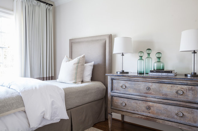 Transitional Bedroom by Marie Flanigan Interiors
