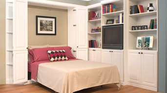 Traditional Murphy Bed with optional wall units