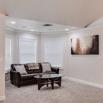Traditional with a touch of Modern home remodel