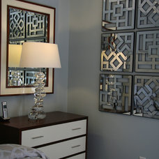 Transitional Bedroom by Hom Interiors