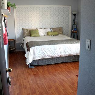 Создайте стильный интерьер: хозяйская спальня в стиле шебби-шик с синими стенами - последний тренд