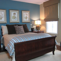 traditional bedroom by Maureen Fiori, AKBD, Allied Member ASID, CAPS