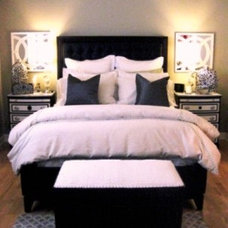 Eclectic Bedroom by ALLURE INTERIORS, Connie Sloma, Allied ASID