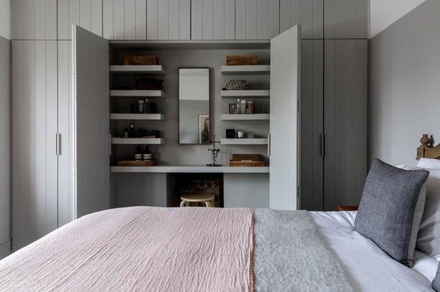 トランジショナル 寝室 Transitional Bedroom