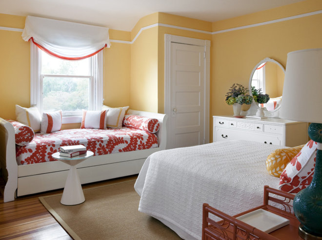 Transitional Bedroom by Andrew Suvalsky Designs