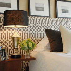 transitional bedroom by Annette English