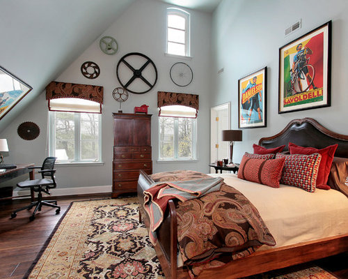 Masculine Window Treatment Houzz