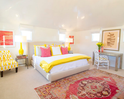 best yellow and pink design ideas remodel pictures houzz 16698 | 05a1ac2903a30272 4429 w500 h400 b0 p0 transitional bedroom