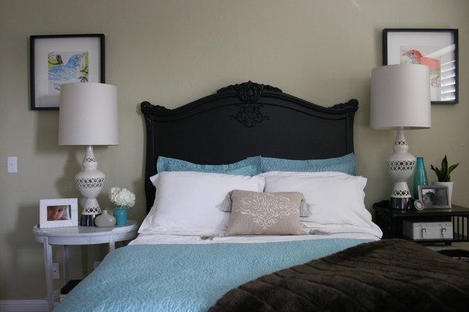 Transitional Bedroom by Fiorella Design