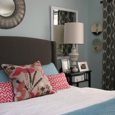 Transitional Bedroom by Fiorella Design