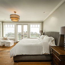 Transitional Bedroom by Joshua Lawrence Studios INC