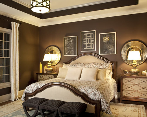 Chocolate Bedroom Home Design Ideas Pictures Remodel And