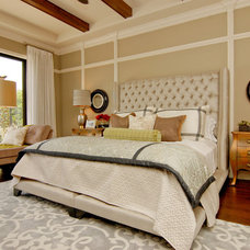 Transitional Bedroom by Masterpiece Design Group