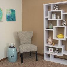 Transitional Bedroom by Megan McGraw Interior Design