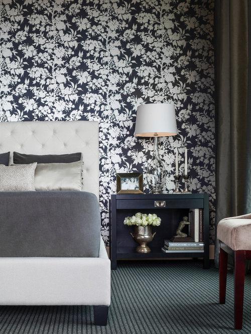 Black Bedroom Design Ideas Renovations Photos With