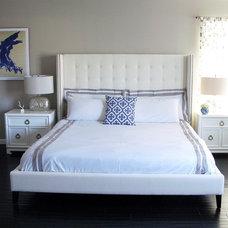 Contemporary Bedroom by Nina Jizhar