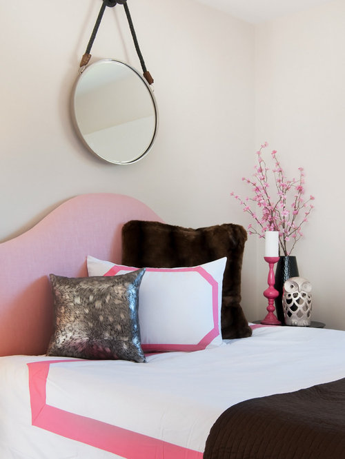 pink and brown bedroom ideas and photos