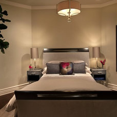 Transitional Bedroom by Renée Gaddis Interiors