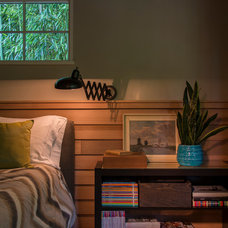 Transitional Bedroom by Rill Architects