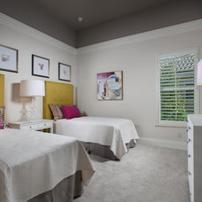 Contemporary Bedroom by Romanza Interior Design