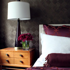 eclectic bedroom by Sean Michael Design